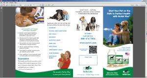 NuVet Brochure